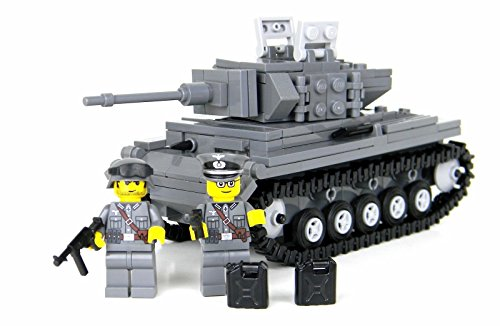 Deluxe German Panzer IV - Battle Brick Custom Set