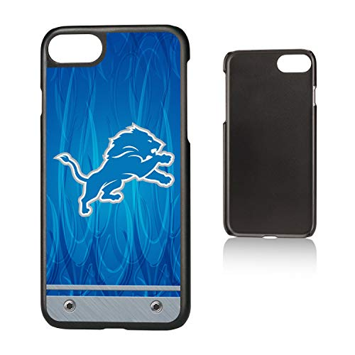 Keyscaper NFL DetroitLions KSLMI7-KNFL-DLIG01 Slim Case, Black, iPhone 8/7