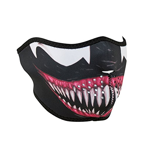 Zanheadgear Neoprene Half Face Mask, Toxic ()