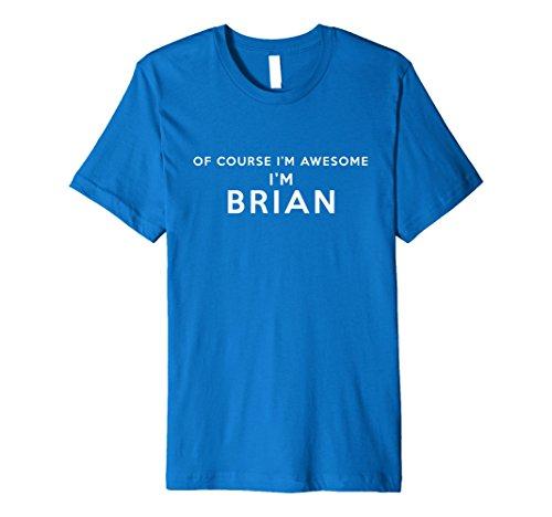 Mens Premium Mens Brian T Shirt Xl Royal Blue