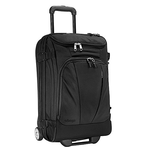 """eBags TLS Mother Lode Mini 21"""" Wheeled Duffel Bag Luggage - Carry-On - (Solid Black)"""