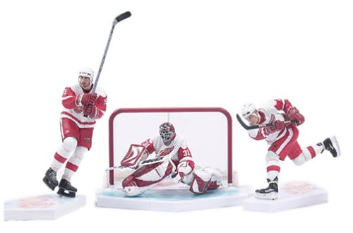 Mcfarlane Toys Hockey Action Figures Box Set Detroit Red Wings White Jersey ()