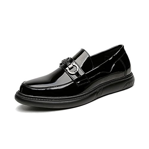 de de los Cuero Hombres Zapatos PU Negro Superiores Mocasines Oxfords Smooth Negocios Caballeros Sa4qxxwBn