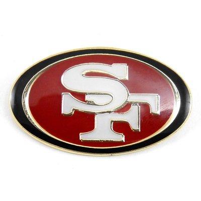 169ddb43 San Francisco 49ers Logo Pin Badge: Amazon.co.uk: Kitchen & Home