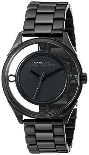 Marc Jacobs Women's MBM3415 Tether Black Stainless Steel ...