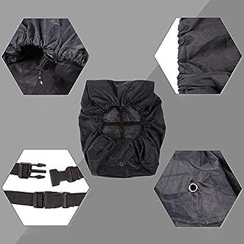 Senderismo etc Negro Daliuing Fundas para Mochilas Fundas Impermeabile para Mochila para Camping Cubierta de Lluvia de mochilaWaterproof Rain Cover for Zaini