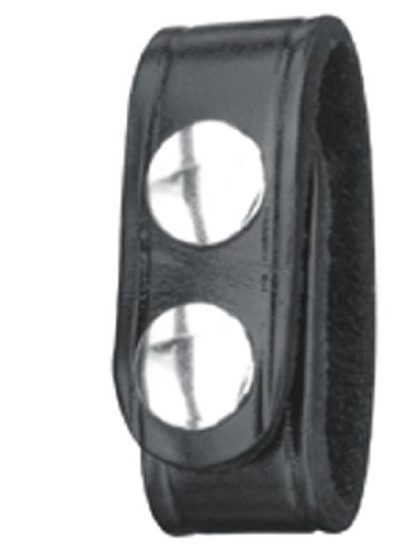 New Gould & Goodrich Double Snap B76-4 Belt Keepers (Pack of 4) (Black)