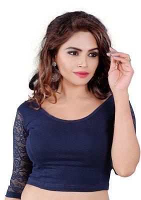 Fressia Fabrics Readymade free Size saree blouse for women party wear choli by Fressia Fabrics