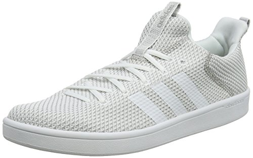 adidas Men's Cloudfoam Advance Adapt Trainers, Black White (Ftwbla / Ftwbla / Gridos 000)