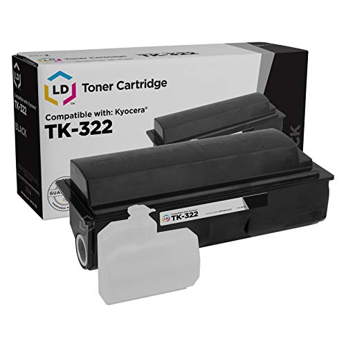 (LD Compatible Toner Cartridge Replacement for Kyocera FS-3900DN TK-322 (Black))
