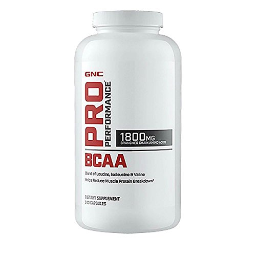 GNC Pro Performance Branched Chain Amino Acids 1800 240 Softgel caps For Sale