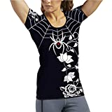 BLACK WIDOW COMBAT SPORTS Women's Spider Web Rash