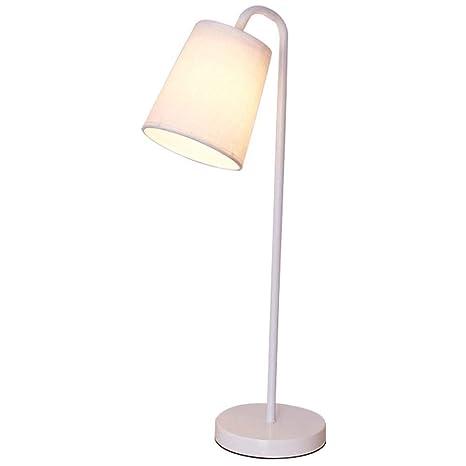 Lámpara de mesa de noche, lámpara de mesa con cubierta de ...
