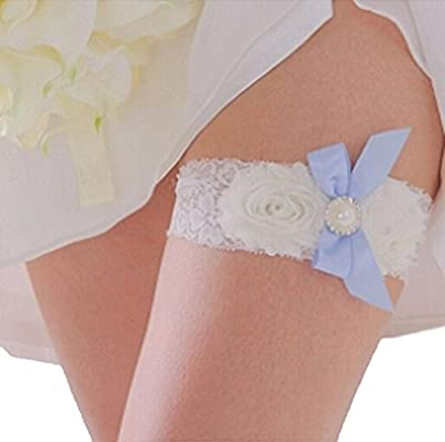 Bridal Wedding Garter Belt Set Lace Vintage Prom Bridal