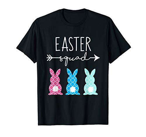 Easter Squad T Shirt Mommy and Me Outfit Clothes Cute -