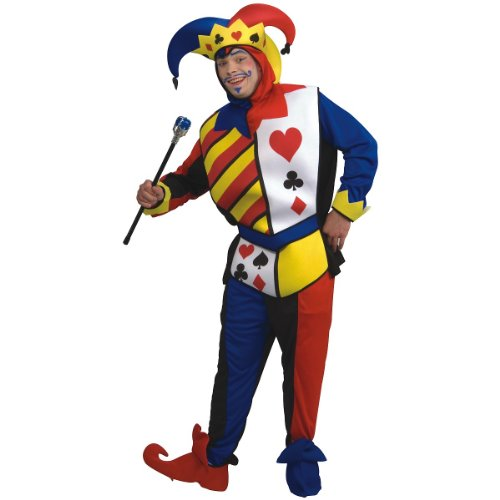 Rubie's Costume Co Playing Card Joker Costume, ()