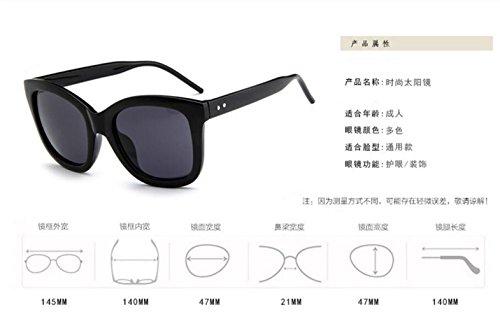 LSHGYJ lifting red coreano sol las de moda en películas en retro sol Versión de sol color and salvaje red personalidad de gafas gafas Bright mercury gafas GLSYJ trwUt