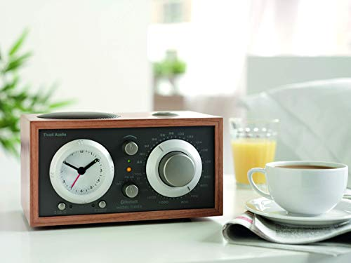 Tivoli Audio Model Three BT with USB in Cherry/Taupe