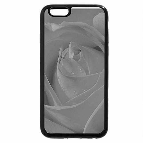 iPhone 6S Plus Case, iPhone 6 Plus Case (Black & White) - rose :