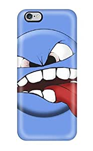 Excellent Iphone 6 Plus Case Tpu Cover Back Skin Protector Funny Tongue Out (3D PC Soft Case)