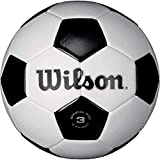 Wilson Traditional Soccer Ball - White/Black, Size 3 - New
