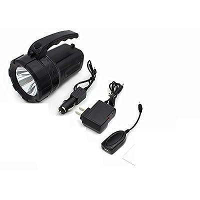 éblouissement lampe de poche Rechargeable LED Lumière portable