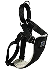 Canine Equipment 1-Inch Large No Pull Dog Harness, Black