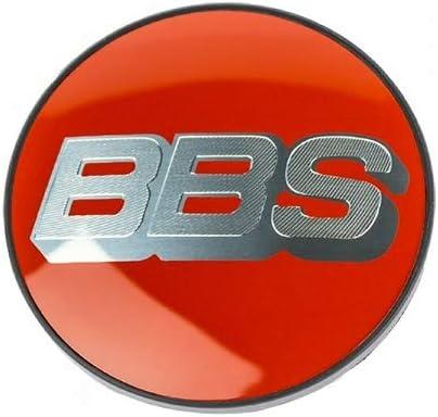 Original BBS Symbolscheibe Silber//rot 70,6mm N/ÜRBURGRING Edition Nabendeckel