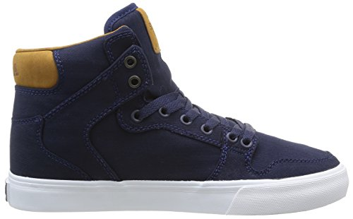 homme mode Baskets Bleu Brown Supra Navy White Vaider qtU6cC