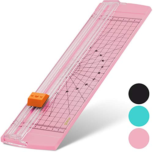 La Crafts Coupons (Glone 12 inch Paper Trimmer, A4 Size Paper Cutter with Automatic Security Safeguard for Coupon, Craft Paper and Photo)