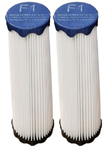 2 Dirt Devil F1 replacement HEPA Filters designed to fit: Dirt Devil Breeze, Featherlite, Jaguar, Bagless Extra Light, Scorpion, Vision Bagless Models. Replaces Part #'s 2JC0280000, 3JC0280000 -
