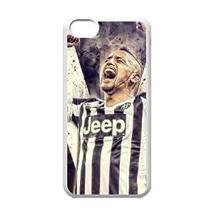 Arturo Vidal iPhone 5c Cell Phone Case White yyfabb-171093