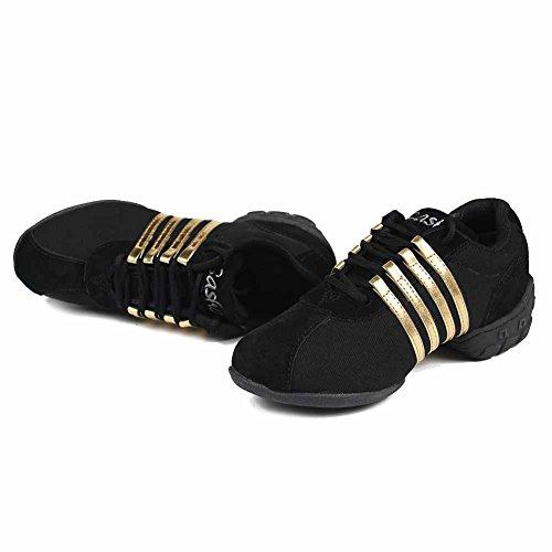 jazz aire moderno hop de mujeres deporte de zapatillas deportivo zapatos libre al baile Oro T01 ES de SWDZM zapatos zapatos hip aWzgqwBw