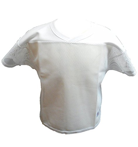 Russell Athletic practice football jersey adult med white Russell Athletic White Football Jersey