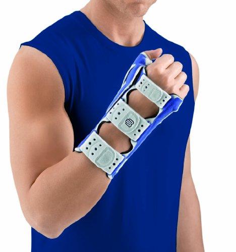 Right Wrist Support Bauerfeind - Bauerfeind Manurhizoloc Wrist and Thumb Support, Titanium, Right, 2