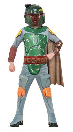 Star Wars Boba Fett Deluxe Child Costume (Large)