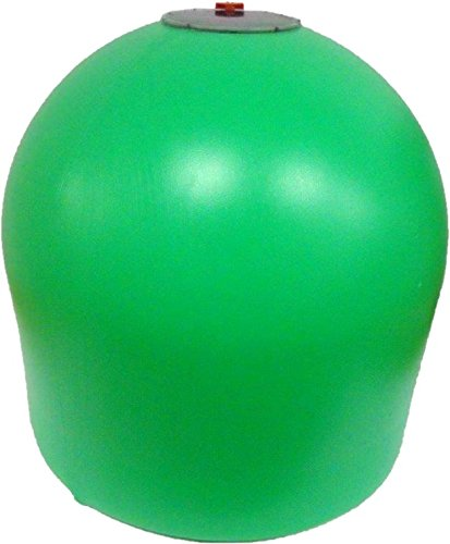 AquaLantern - Green Solar Lighted Marker Buoy - 20