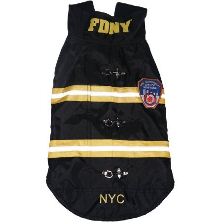 Royal Animals FDNY Water-Resistant Dog Coat X-Small by ROYAL ANIMALS