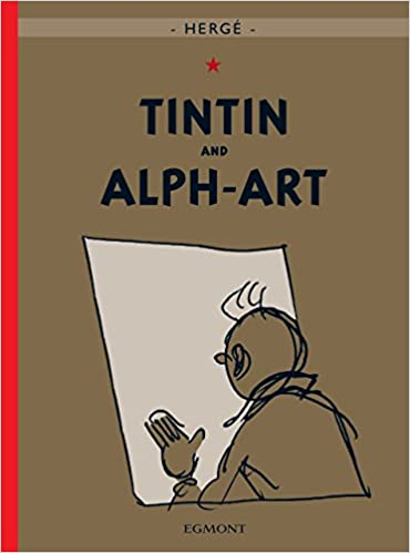 tintin and alph art adventures of tintin hardcover
