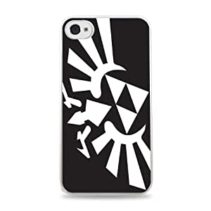 Big White Triforce White Designer Protective Case Cover for Apple iPhone 5 / 5S