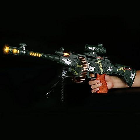 Fun Central (AT754) LED toy Gun - 24 Inch Camo Sniper Rifle - Gun Sniper Set