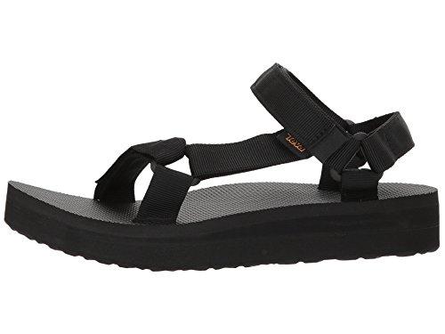 Teva Midform Universal Sandal Women's Hiking 6 Black by Teva (Image #1)