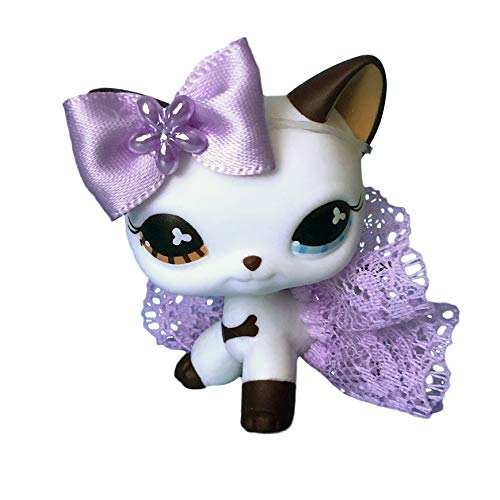 Littlest Pet Shop Accessories Clothes LPS Lot Bow Skirt No PET (Littlest Pet Shop Shorthair Cats)