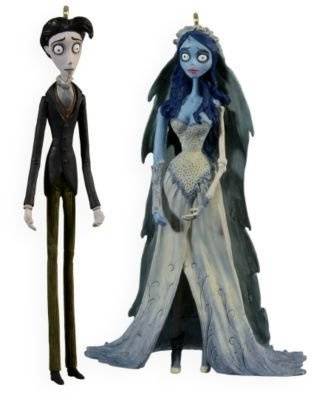 QXI1355 Emily and Victor Tim Burton's The Corpse Bride 2009 Hallmark Ornament