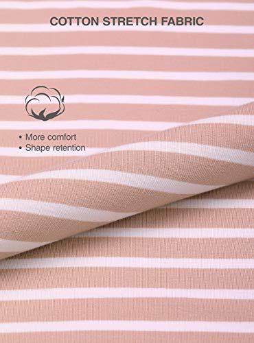 a0cf9227c791 Donna Resistente Abbigliamento Corda Lunga Pigiama Genuwin Di Femminile  Cotone amp; Con E Pantaloni Casa Cintura Super Rosa Morbido Da Maglietta  Intero ...
