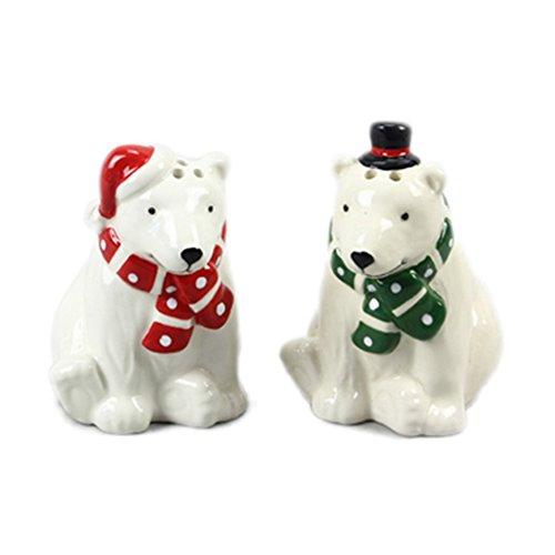 Youngs Polar Bear Salt & Pepper Set
