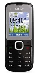 Nokia C1-01 Unlocked GSM Phone--US Version with Warranty (Dark Grey)