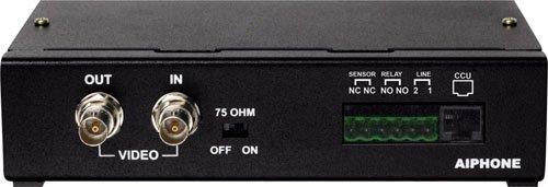 Aiphone Corporation AXW-AZ CCTV Input Module for AX Series, Hands-Free Video Intercom, EGS Steel Paint Powder Coat, Black