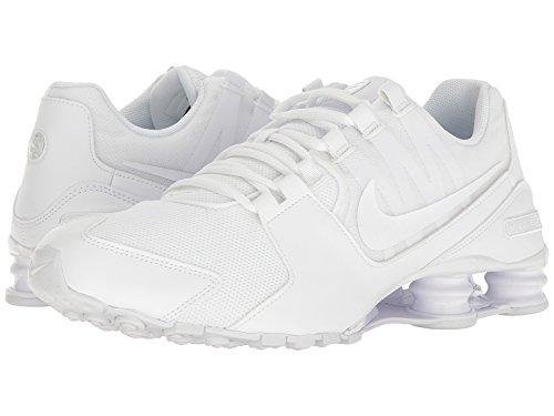 Nike Men's Shox Avenue Running Shoes White/White 833583 107 (9)