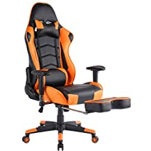 Top Gamer Ergonomic Gaming Chair High Back Computer Office Chair, Orange
